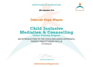 Child Inclusive Mediation & Counselling